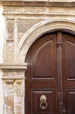 Door in Rethymno on Crete Royalty Free Stock Photo
