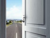 Door in road Stock Photos