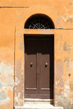 Door in Rome Royalty Free Stock Photos