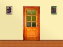 Door in the room Stock Image
