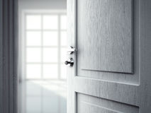 Door in room Royalty Free Stock Image