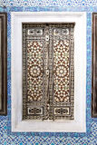 Door in a Room in Topkapi Palace Stock Photo