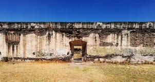 Door. Ruins of a door Stock Image