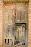 Door in ruins Royalty Free Stock Image