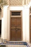 Door's decoration in Marrakech Royalty Free Stock Photo