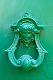 Door's handle. Detail of a door handle in Tuscany Royalty Free Stock Image