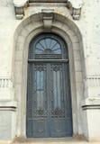 Door in 1930s neo-Romanian style, Bucharest Royalty Free Stock Photos