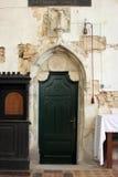 Door of Sacristy Stock Photo