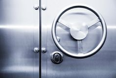 Door of the safe Royalty Free Stock Photo