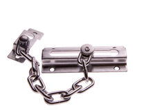 Door Safety Chain Royalty Free Stock Photo