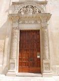 Door, Santa Maria Degli Angeli Stock Photo