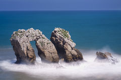 The Door of the Sea.Cantabria,Spain. Stock Photography