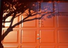 Door shadows Stock Photos