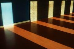 Door shaped sunlight Royalty Free Stock Photography