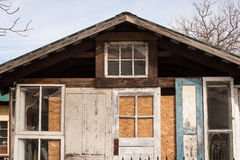 Door shed Royalty Free Stock Image