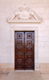 Door of Shrine of Fatima Stock Image