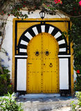 Door of Sidi Bou Said. La Gulett, Tunisia Royalty Free Stock Image