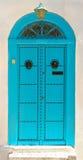 Door of Sidi Bou Said. La Gulett, Tunisia Royalty Free Stock Photos