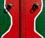 Door Sidi. Traditional Tunisian Door in Sidi Bu Said. Picture taken 11.07.2008 Stock Photo