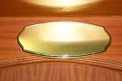 Door sign Stock Photo