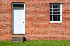 Door and single window Stock Photography