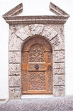 Door in Sion Stock Image