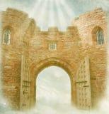 Door in the sky Royalty Free Stock Photo