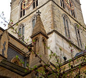 Door southwark  cathedral in london england old  construction an Stock Photography