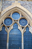 Door southwark  in london england old  and religion Royalty Free Stock Photos