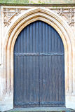 Door southwark  in london england  and religion Royalty Free Stock Photography
