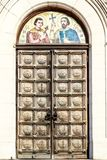 The door of St. Alexander Nevsky Cathedral, Sofia Stock Images