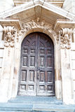 door st paul cathedral in london england Stock Photo
