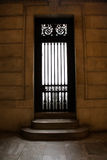 Door and stair at New York Library Royalty Free Stock Photos
