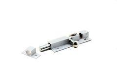 Door steel pad bolt Royalty Free Stock Photography