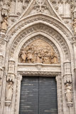 Door of the Steps - Puerta de Pasos, Cathedral, Seville Royalty Free Stock Images