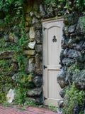 Door in stone Stock Photography