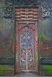 Door stone carved Royalty Free Stock Images
