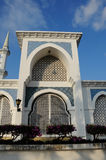 Door of Sultan Ahmad Shah 1 Mosque in Kuantan Royalty Free Stock Photos