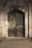 A door of Sultanahmet Mosque Stock Images