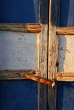 Door. Sunlit door in bosra, southern syria stock photo