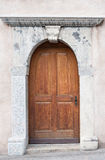 Door in Switzerland Stock Photography