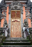 The door of temple in Bali island, Indonesia Stock Images