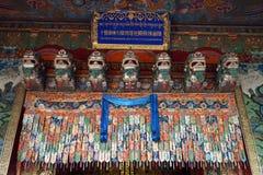Door of temple Stock Photography