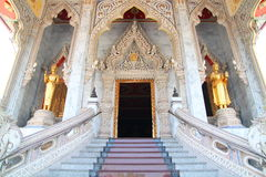 Door temple in thailand Royalty Free Stock Photo