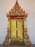 Door of Thai style Royalty Free Stock Photos