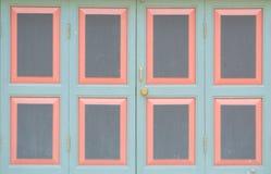 Door Thailand. Old Door in Thailand locked Royalty Free Stock Photo