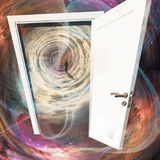 Door in time Stock Photography