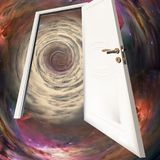Door in time Royalty Free Stock Image