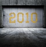 Door to 2010 Royalty Free Stock Image