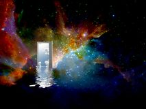 Door to another world Royalty Free Stock Photography
